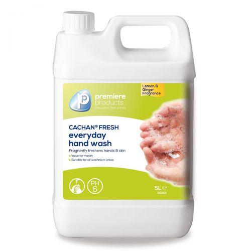 Cachan Fresh Handwash Lemon & Ginger Fragrance 5 Litre Ref 08264