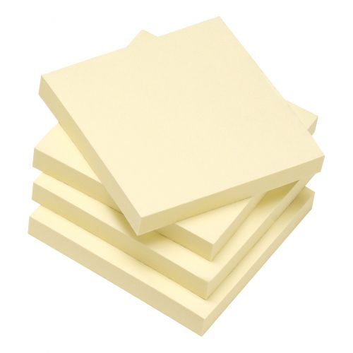 5 Star Eco Rcycld Notes 76x76 Pk12 Yllw