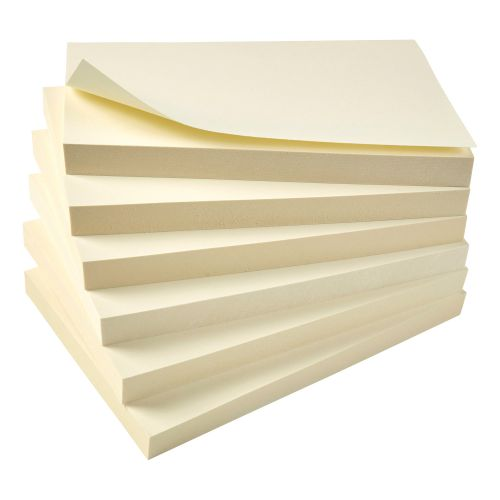 5 Star Eco Rcycld Notes 76x127 Pk12 Yllw