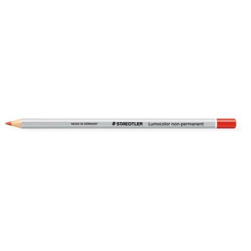 Staedtler Lumocolor Permanent Omnichrom Pencil Red (Pack 12) 108-2
