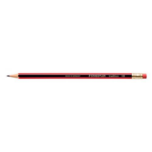 Staedtler 112 Tradition HB Pencil Rubber Tip PK12
