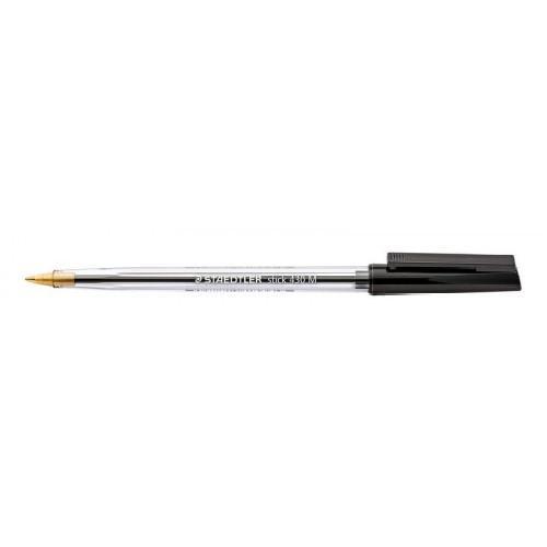 Staedtler 430 Stick Ball Pen Medium 0.35mm Black PK10