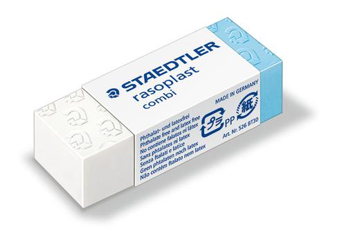 Staedtler Rasoplast Combi Eraser 526 BT30 [Box 30]