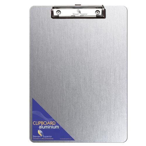 Stewart Superior Aluminium Clipboard A4 Plus