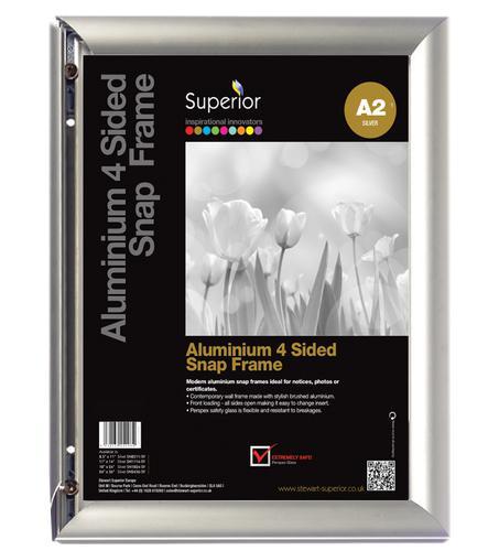 Aluminium Front Loading Snap Frame A2 AM-A2SV