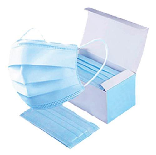 Disposable Medical 3Ply Face Mask Type IIR EN14683 Blue EarLoop [Box of 50]