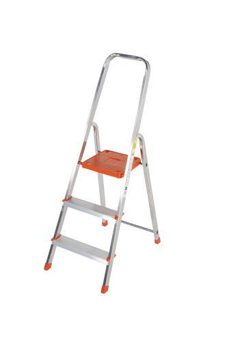 Light Duty Platform Step Ladder 3 tread EN131 1212-003