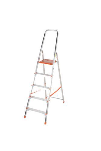 Light Duty Platform Step Ladder 5 tread EN131 1212-005