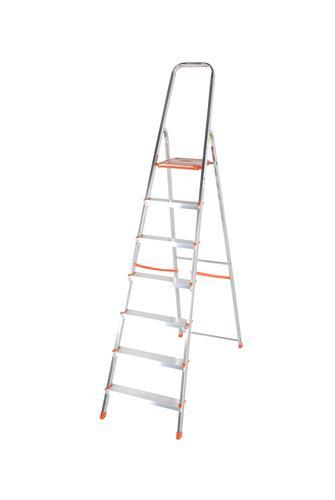 Light Duty Platform Step Ladder 7 tread EN131 1212-007