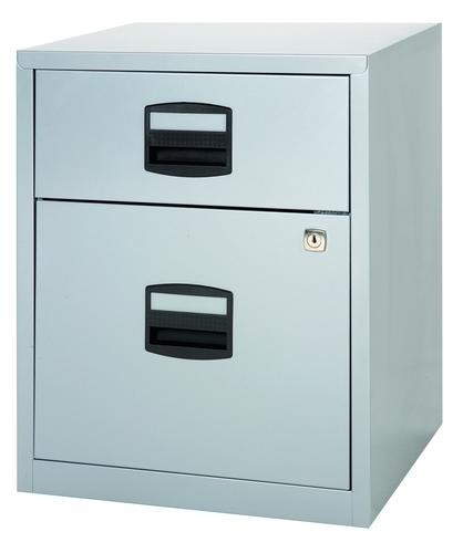 Bisley A4 Mobile Home Filer 2 Drawer Grey