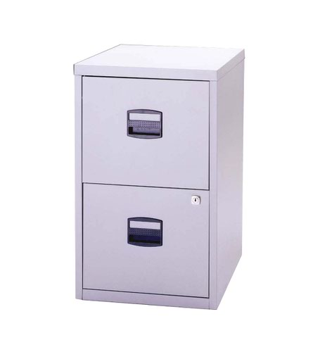 Bisley A4 Personal And Home Filer 2 Drawer Grey Goose