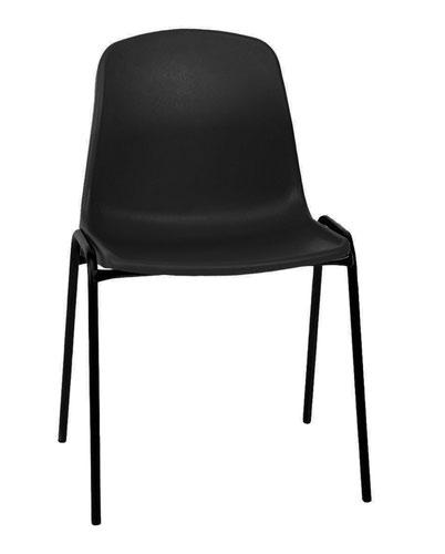 Economy Polypropylene Chair - Black
