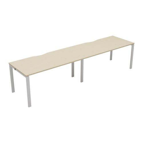 CB 2 Person Single Bench 1200 X 800 Cut Out Maple-White
