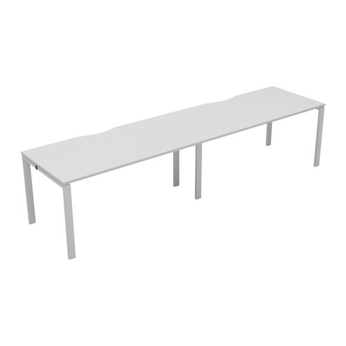 CB 2 Person Single Bench 1200 X 800 Cut Out Nova Oak-White