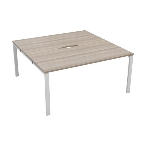 CB 2 Person Bench 1200 X 800 Cut Out Grey Oak-White