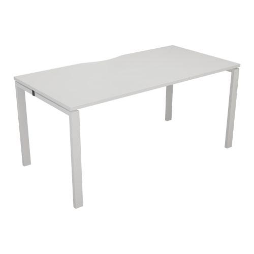 CB 1 Person Bench 1600 X 800 Cut Out White-White