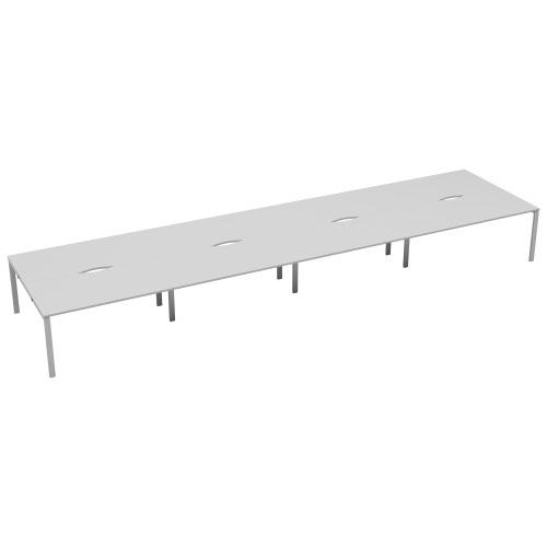CB 8 Person Bench 1600 X 800 Cut Out White-White