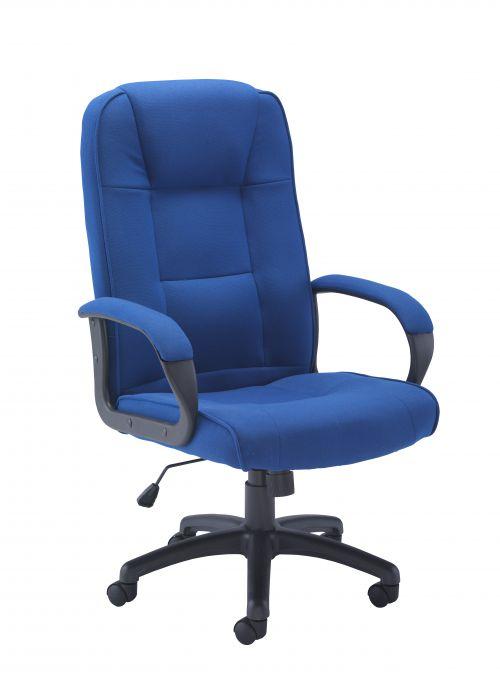 Keno Fabric Chair - Royal Blue