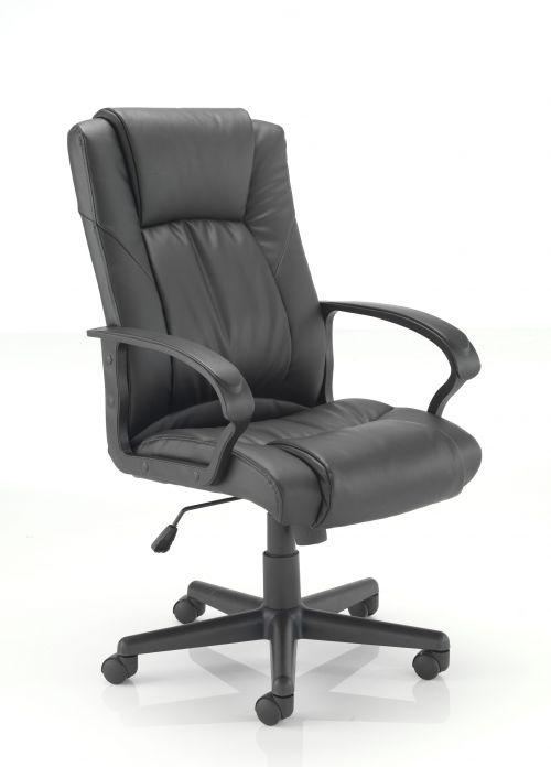 Casino II Leather Chair - Black