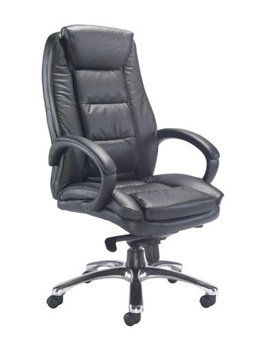 Montana Executive Leather Chair Black