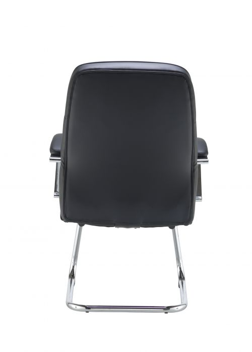 Jemini Ares Visitor Chair PU Black KF71522 by , KF71522