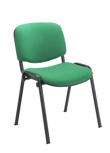Club Chair Green Fabric