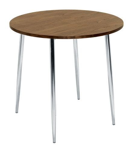 Ellipse 800 4 Leg Table Walnut