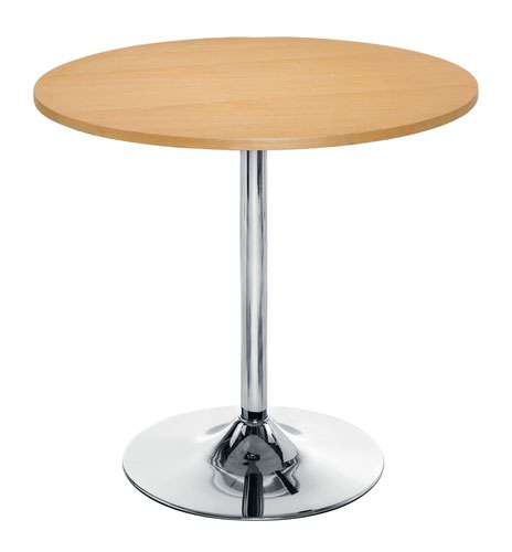 Ellipse 800 Trumpet Base Table Beech
