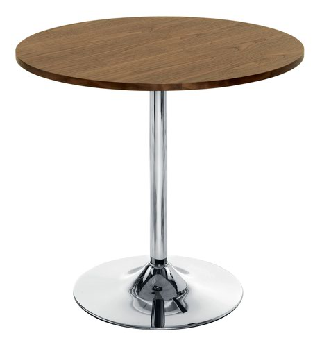 Ellipse 800 Trumpet Base Table Walnut