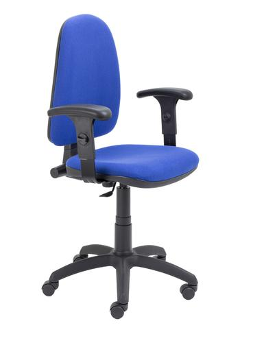 Zoom Highback Operator Chair with Adjustable Arms Royal Blue