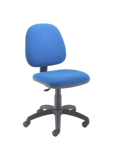 Zoom Midback Operator Chair Royal Blue