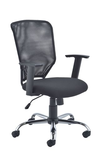 Jemini Low Back Operator Mesh Chair Black KF79885