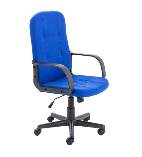 Jemini Jack 2 Fabric Executive Chair Royal Blue KF79890