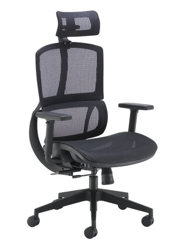 Alto Mesh Chair Black
