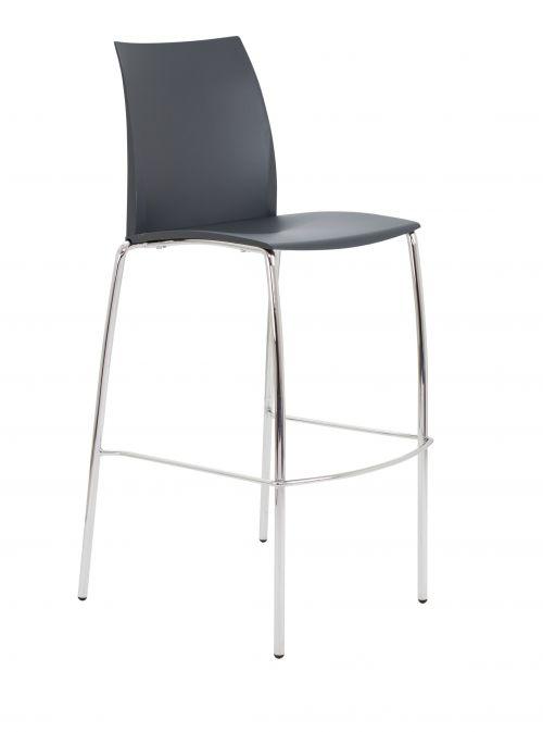 Adapt 4 Leg High Chair Dark Grey