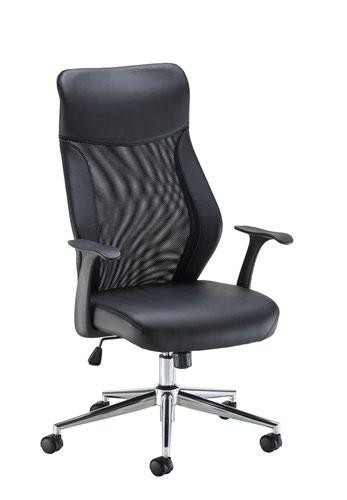 Fonseca 2 Mesh Chair - Black