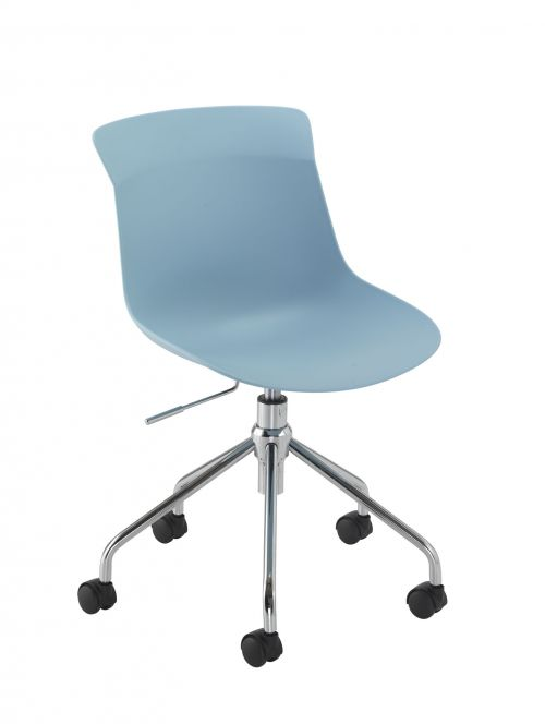 Stupendous Chester Spider Base Pastel Blue Ncnpc Chair Design For Home Ncnpcorg