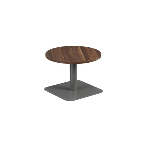 Contract Table Low 600mm Dark Walnut