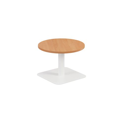 Contract Table Low 600mm Beech - Version 2