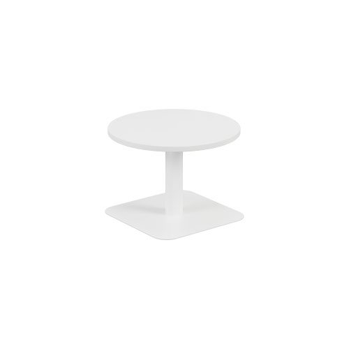 Contract Table Low 600mm White