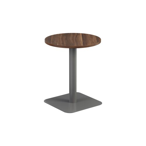 Contract Table Mid 600mm Dark Walnut