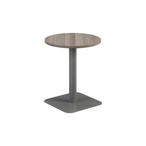 Contract Table Mid 600mm Grey Oak