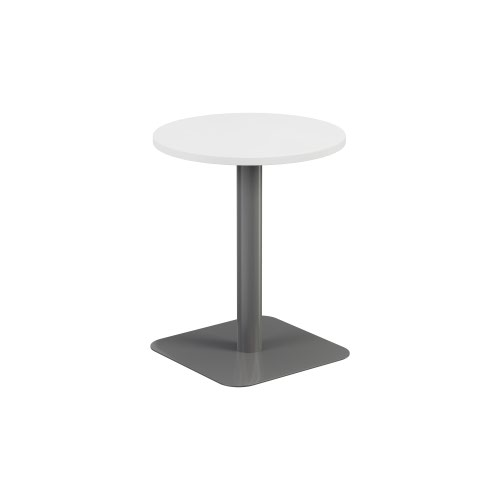 Contract Table Mid 600mm White