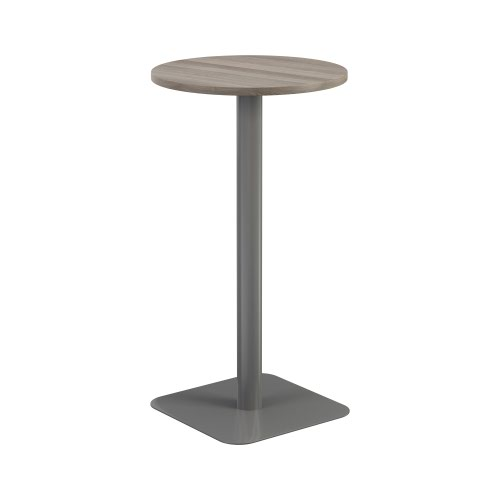 Contract Table High 600mm Grey Oak