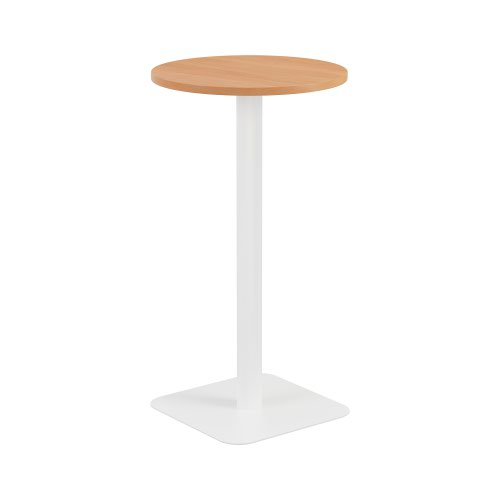 Contract Table High 600mm Beech - Version 2