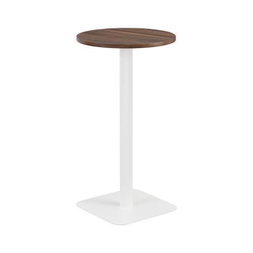 Contract Table High 600mm Dark Walnut