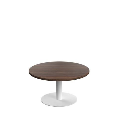 Contract Table Low 800mm Dark Walnut