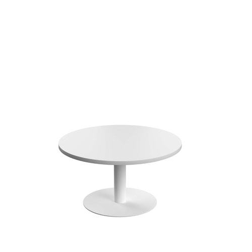 Contract Table Low 800mm White