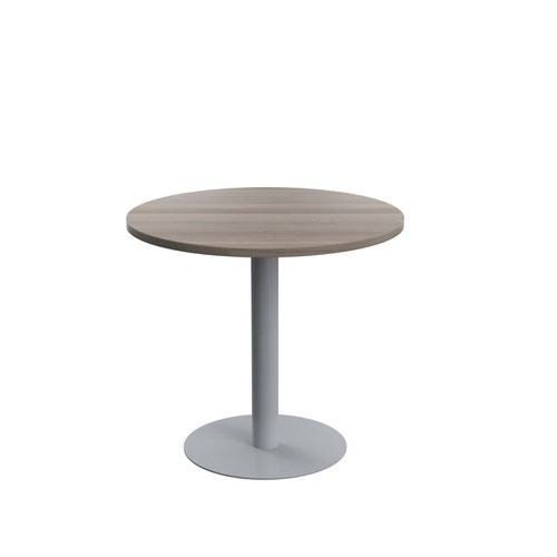 Contract Table Mid 800mm Grey Oak