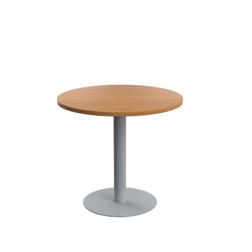 Contract Table Mid 800mm Nova Oak